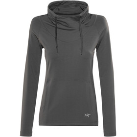 Arc'teryx Varana T-Shirt LS Women Charcoal